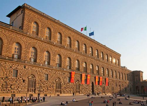 Il palazzo Pitti