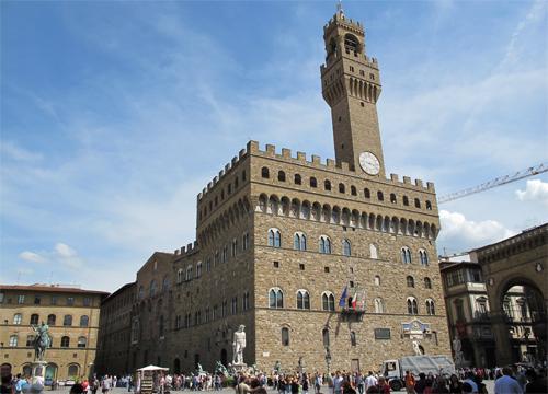 Il palazzo Vecchio