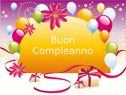 Поздравления с днем рождения итальянский стиль