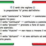 Глаголы в итальянском языке