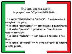 глаголы итальянские