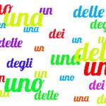Неопределенный артикль в Итальянском языке