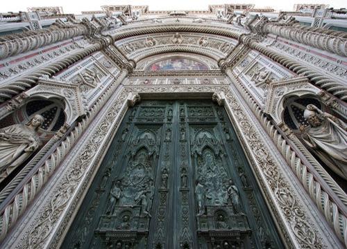 бронзовые ворота