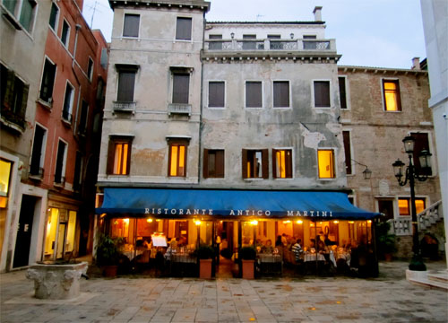 Restaurants-Venice-Antico-Martini
