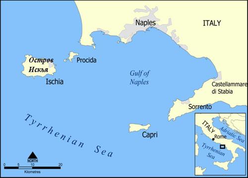 Ostrova Italii Maps