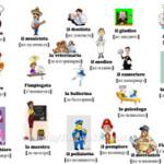 Профессии на итальянском языке