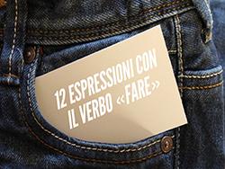 12 выражений с глаголом FARE