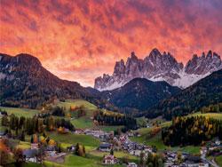 Сесто,Италия. Отдых в доломитовых горах.