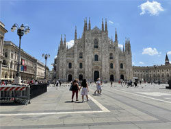 Климатические условия в Милане