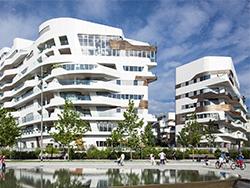 CityLife новый современный городской район Милана.
